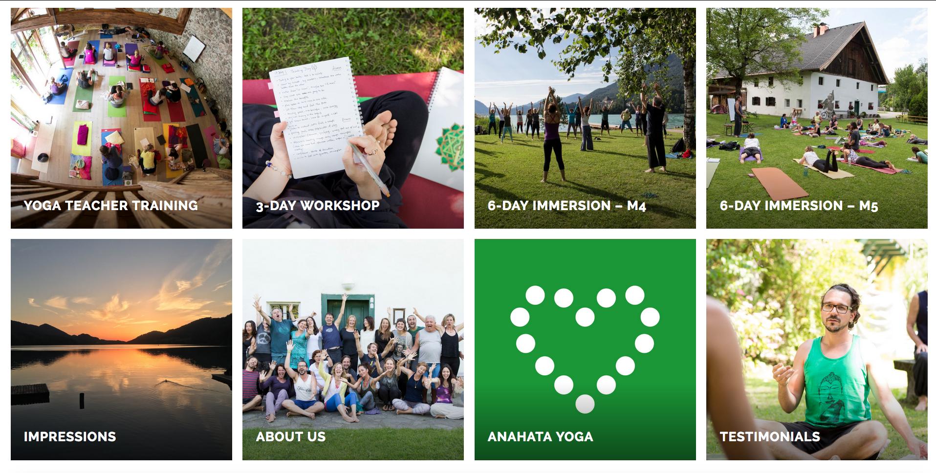 Fresh Herbs Communications – Anahata Yoga Salzburg Website 2