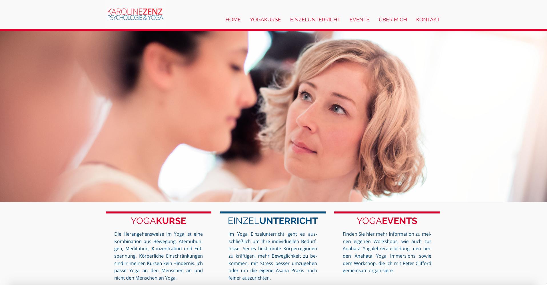 Fresh Herbs Communications Marketing Projektmanagement Website Salzburg_21_Karoline Zenz Yoga