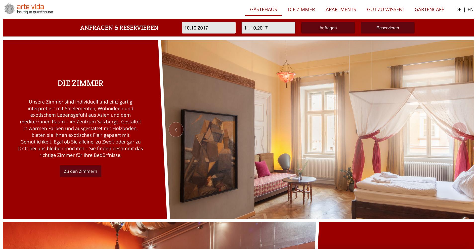 Fresh Herbs Communications Marketing Projektmanagement Website Salzburg_38_arte vida boutique guesthouse